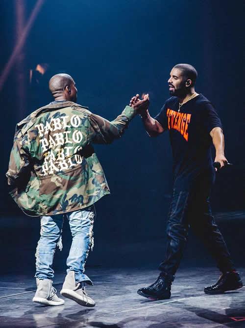 Drake放出了Kanye和Andre 3000合作歌曲