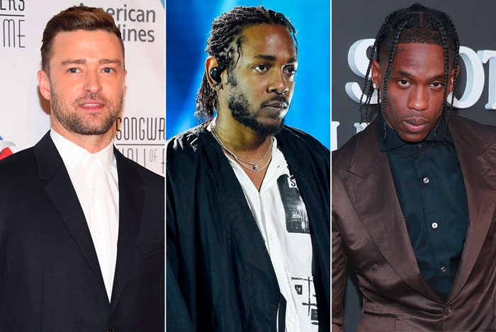 Justin Timberlake新专辑最希望和Kendrick Lamar,Travis Scott合作