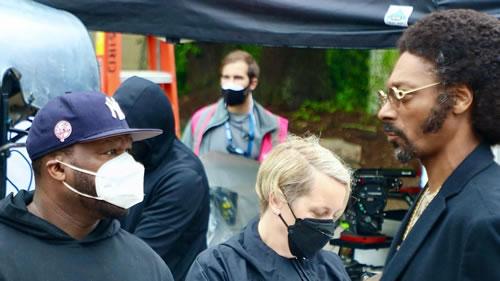 """制片人50 Cent在片场和主演Snoop Dogg""""闹不开心"""""""