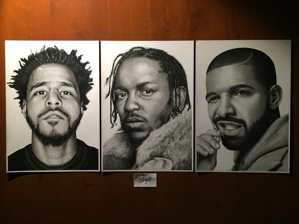 J. Cole不再把Drake和Kendrick Lamar当竞争对手