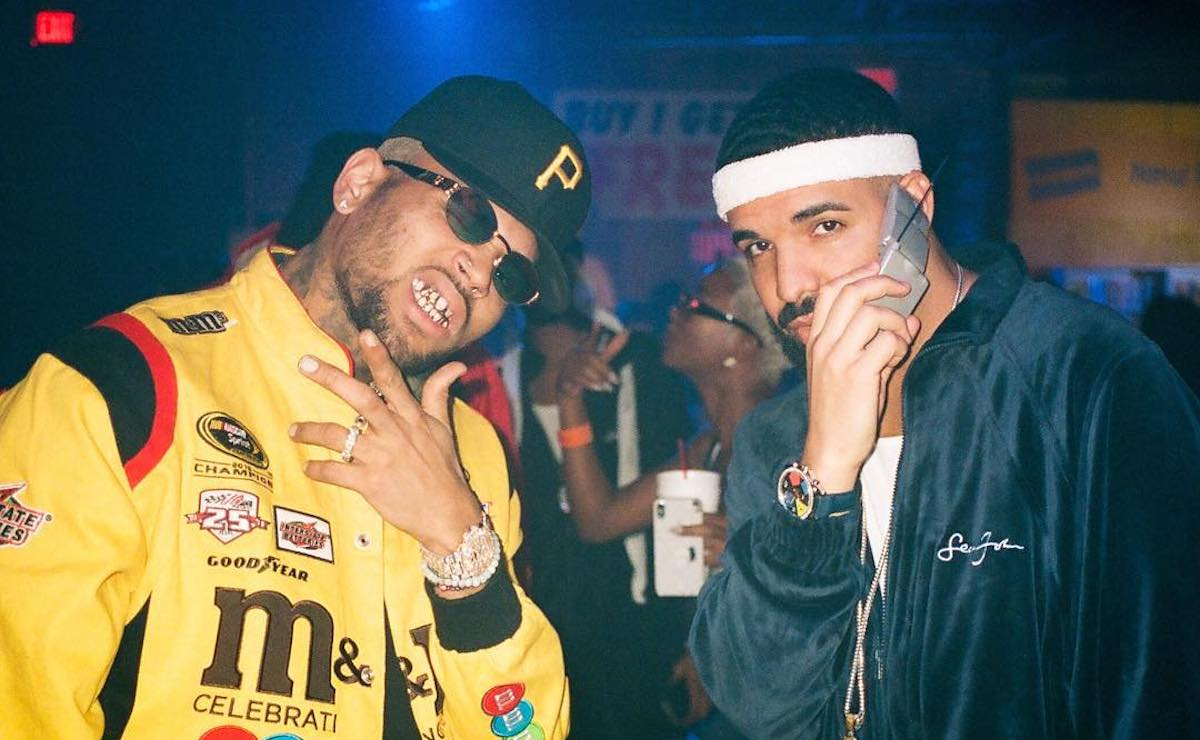 "Chris Brown和Drake带来最新舞姿,各领""风骚"""