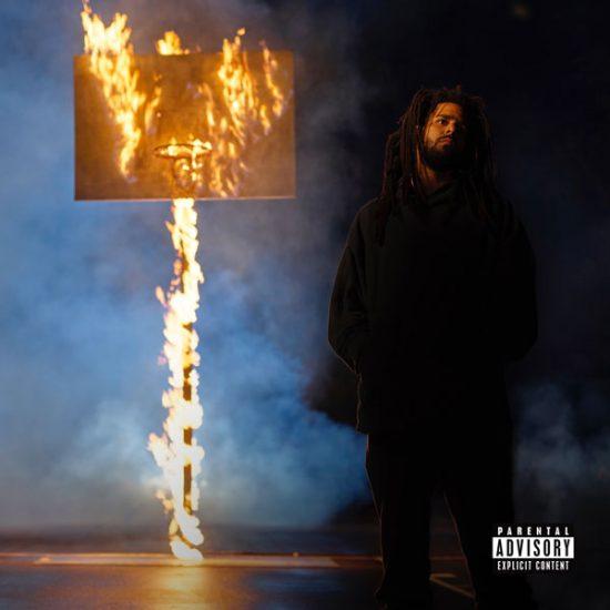 J.Cole身在非洲庆祝专辑夺冠