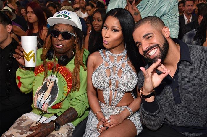 Birdman说,他分给了Lil Wayne, Drake, Nicki Minaj90亿元