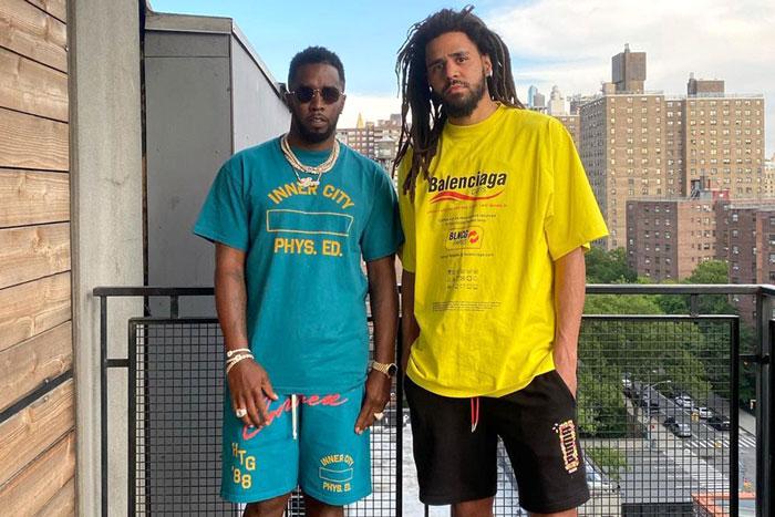 Diddy和J.Cole重聚,一扫不快