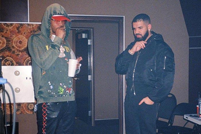 Drake 和 Future深夜录音室产歌