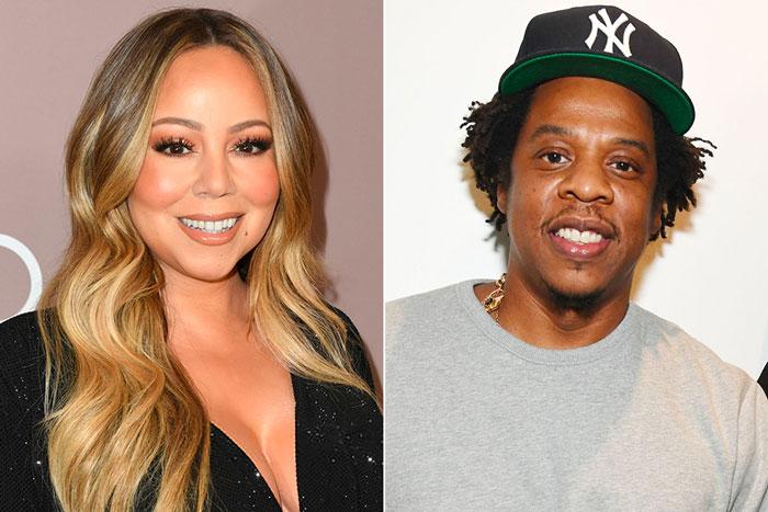"Mariah Carey正面回应""和Jay Z激烈会面""报道"
