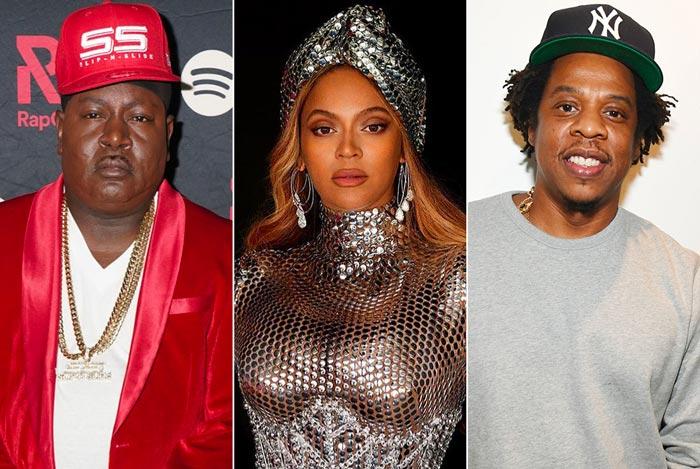 Beyoncé和JAY Z被这位说唱歌手炮轰
