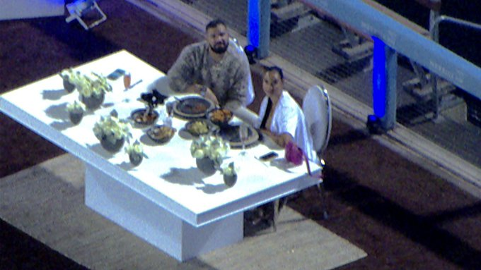 Drake的花式约会...有钱人的游戏