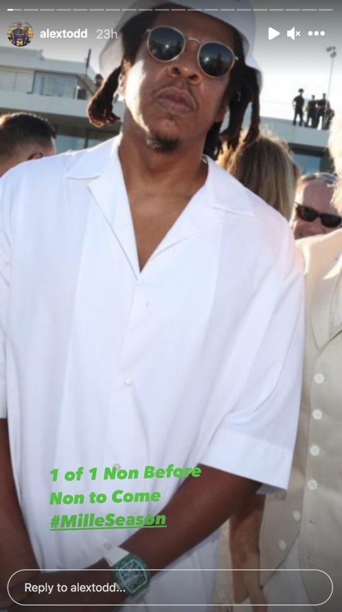 Jay Z戴着一套豪宅在手上...这个表 值2000万