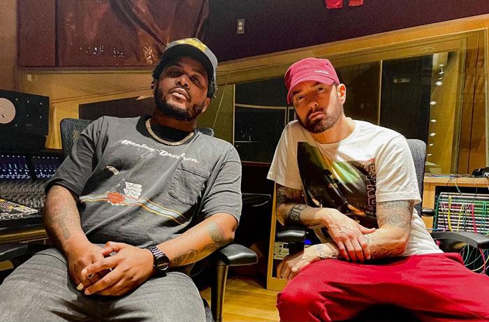 Eminem新歌,客串旗下艺人GRIP歌曲Walkthrough!