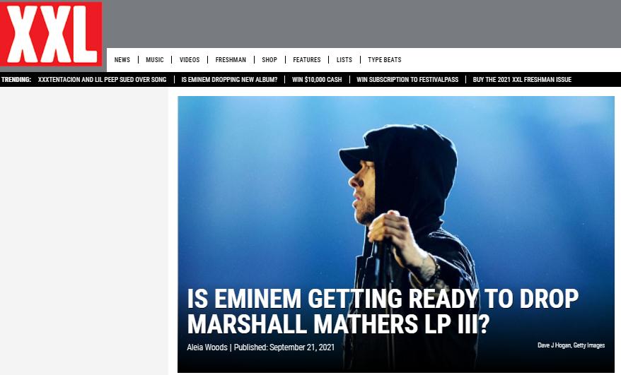 Eminem MMLP 3专辑真的要来吗???