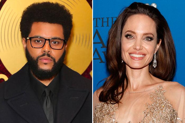 The Weeknd和安吉丽娜朱莉二度餐厅吃饭引恋爱传闻