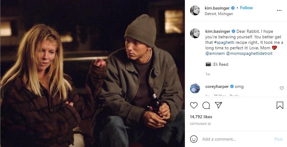 Eminem八英里电影里的妈妈向阿姆新餐厅发去贺电