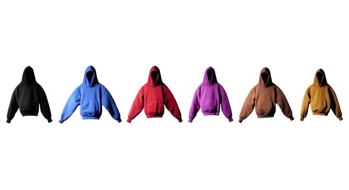 Kanye x Gap合作品牌YZY第一款卫衣,客户很满意