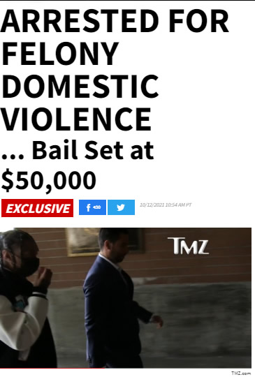 Tyga被逮捕,交了5万美元保释金后释放